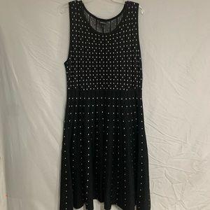 NWT Torrid Black & White Sleeveless Dress